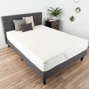 Comparison Egg Crate 2 Memory Foam Mattress Topper By Alwyn Home