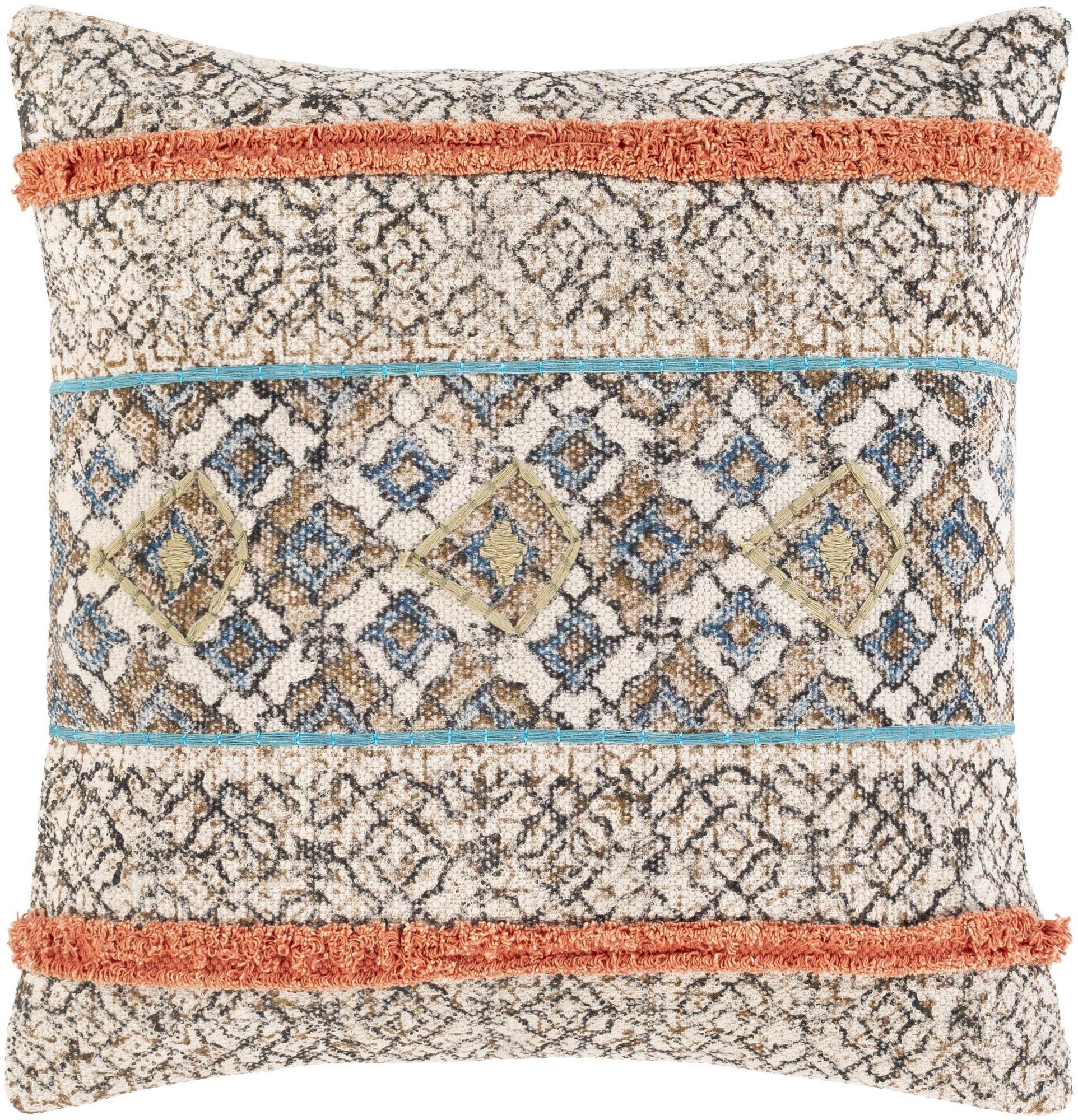 Bungalow Rose Sopris Cotton Throw Pillow Reviews Wayfair