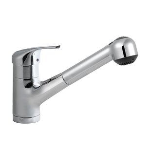 Houzer Reya Pull Out Single Handle Kitchen Faucet
