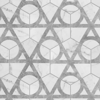 Elitetile Karra 7 X 8 Porcelain Patterned Wall Floor Tile Reviews Wayfair