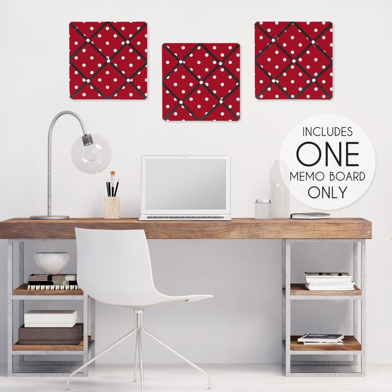 Little Ladybug Wall Mounted Bulletin Board