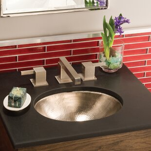 Native Trails, Inc. Baby Classic Metal Oval Undermount Bathroom Sink