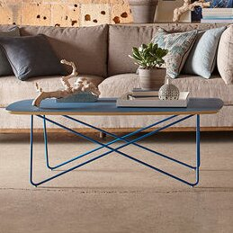 Yasmine Blue Coffee Table