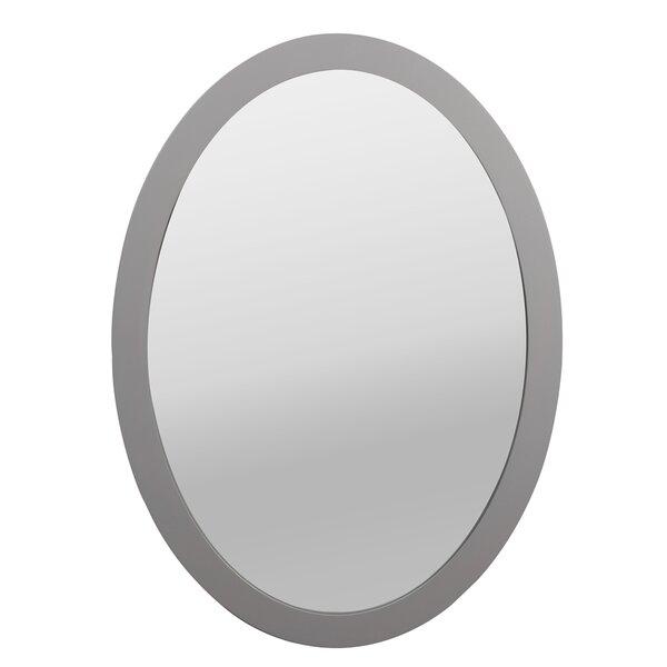 Wood Framed Oval Mirror | Wayfair.ca