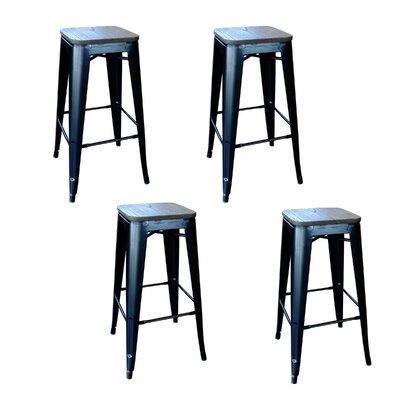 Awe Inspiring Trent Austin Design Racheal 30 Bar Stool Finish Black Squirreltailoven Fun Painted Chair Ideas Images Squirreltailovenorg