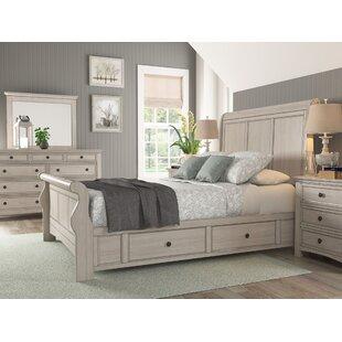 Three Posts Sefton Storage Sleigh Bed