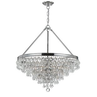 Willa Arlo Interiors Devanna Traditional 6-Light Chandelier