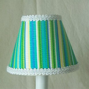 Reviews Screamin Stripes 11 Fabric Empire Lamp Shade By Silly Bear Lighting