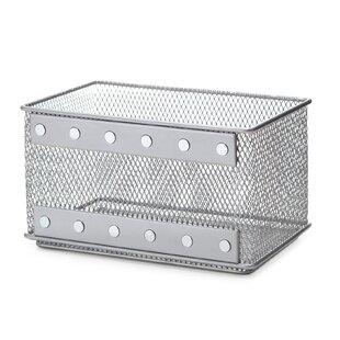 Superbe Kitchen Office Supply Organizer Wire Mesh Basket