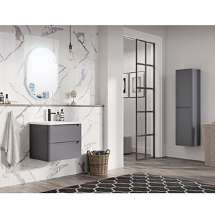 Raqueta 600mm Wall Mounted Vanity Unit By Belfry Bathroom