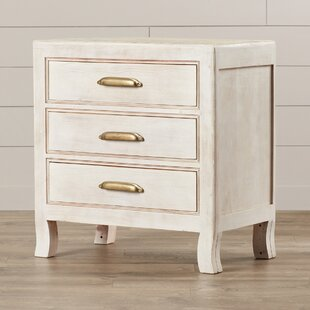 Melia 3 Drawer Nightstand by Mistana