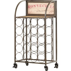 Goulette 20 Bottle Floor Wine Rack by Lark Manor