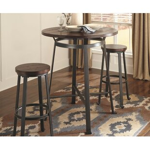 Dube Pub Table Set  sc 1 st  Wayfair : high kitchen table sets - pezcame.com
