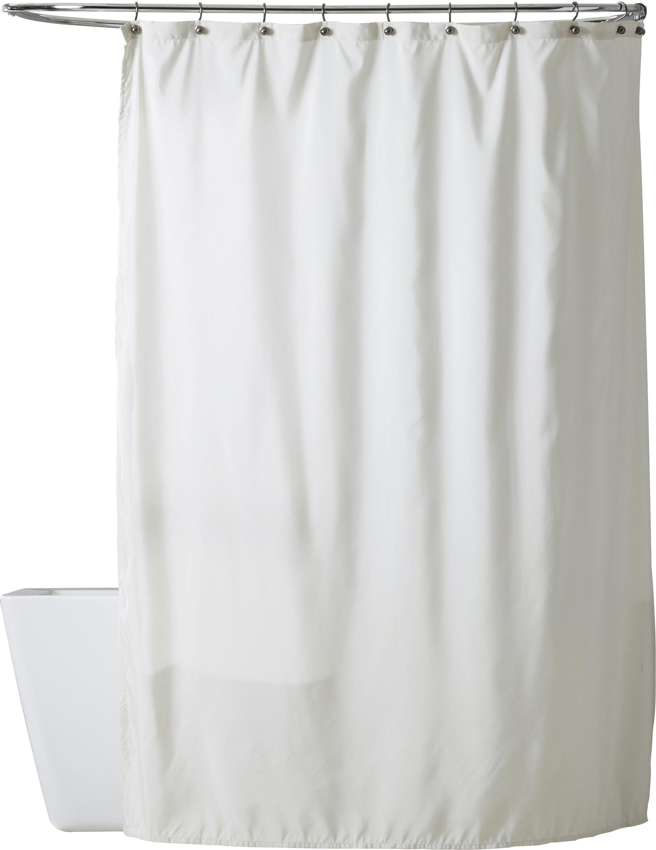 Solid Charlton Home Shower Curtains Shower Liners You Ll Love In 2021 Wayfair