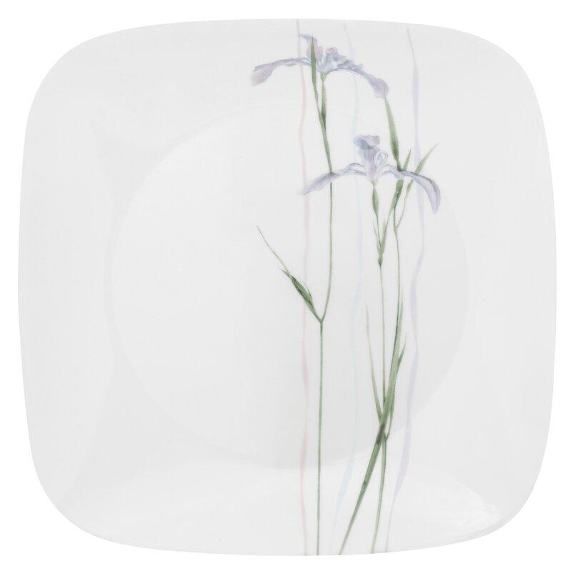 "Impressions Shadow Iris Square 10.5"" Dinner Plate"
