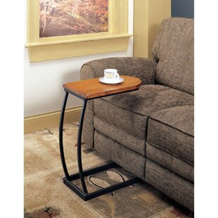 Jenning Distressed Snack End Table