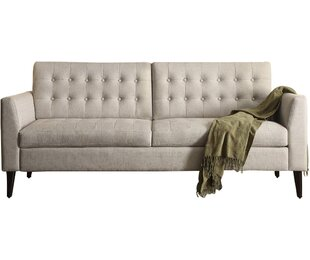 Shop Darren Tufted Sofa by Langley Street