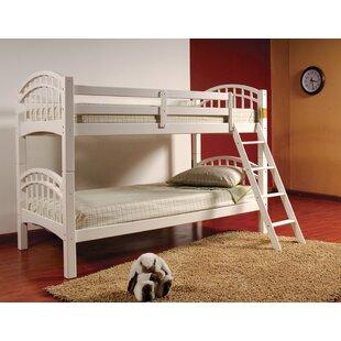 Joellen Twin Over Twin Bunk Bed by Harriet Bee