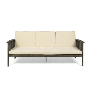 Purchase Denice Patio Sofa with Cushions Order and Review