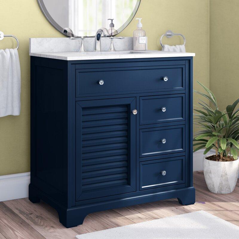 Charlton Home Holiday 32 Single Bathroom Vanity Set Reviews Wayfair