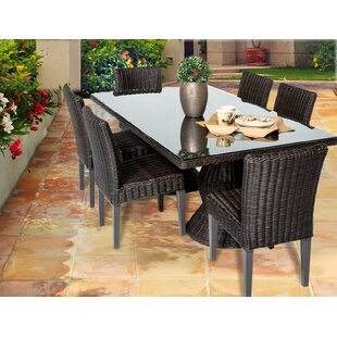 Rosecliff Heights Eldredge 7 Piece Dining Set