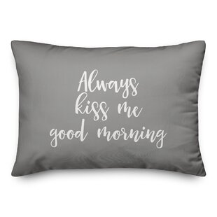 Good Morning Pillow Wayfair