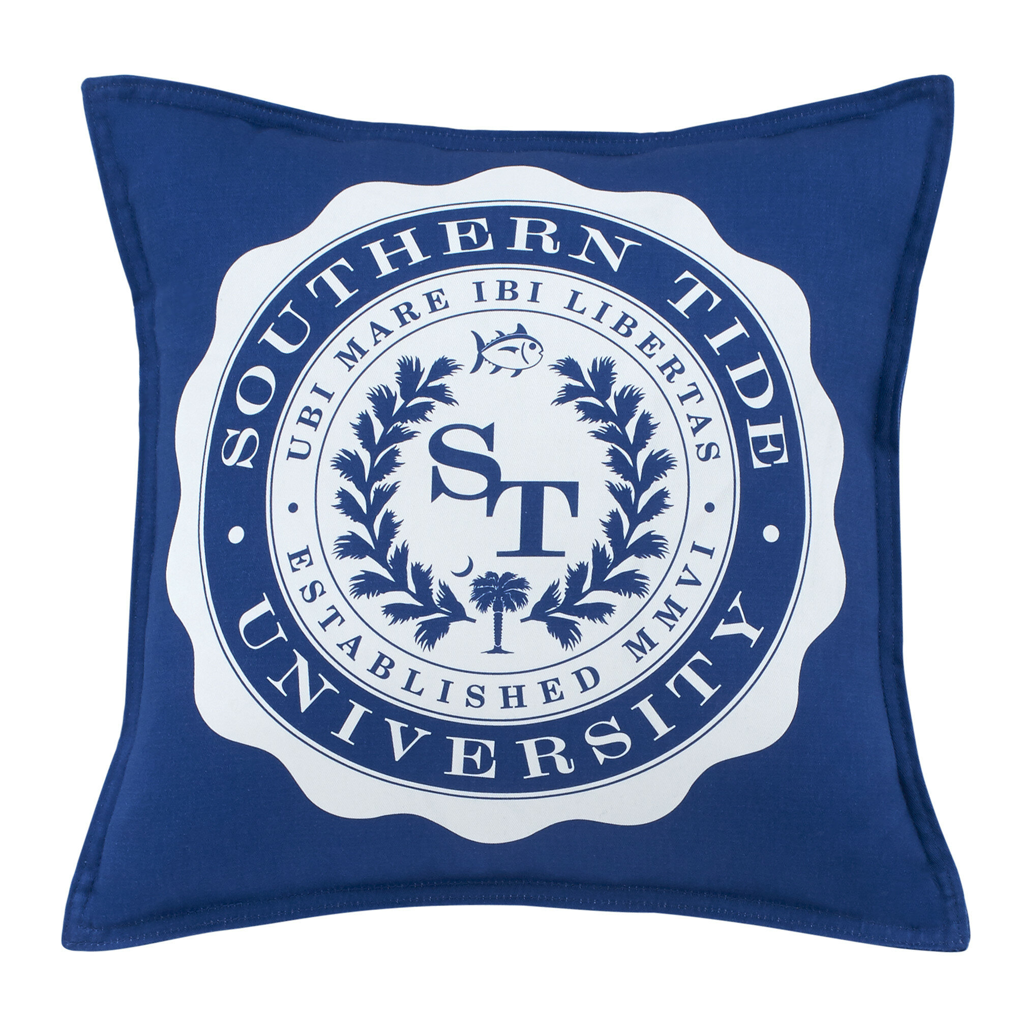 Southern Tide Skipjack Chino University Cotton Throw Pillow Reviews Wayfair