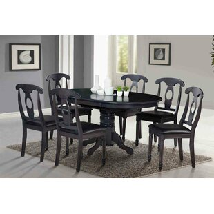 Two Sturdy Solid Wood Dining Table (Set of 2)