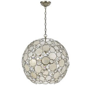 Brayden Studio Fonville 6-Light Globe Chandelier