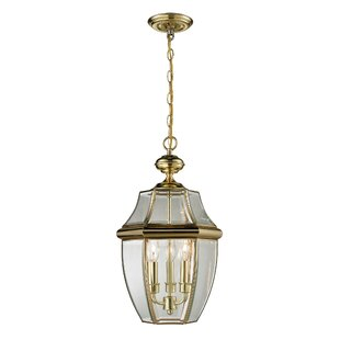 Cornerstone Lighting Ashford Large 3-Light Outdoor Hanging Lantern