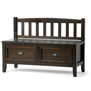 Look for Burlington Wood Storage Bench By Simpli Home
