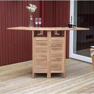 Baek Teak Bar Table By Sol 72 Outdoor