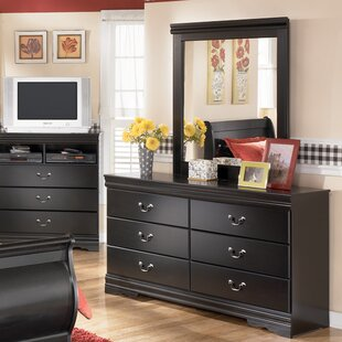Carpenter 6 Drawer Double Dresser by Three Posts