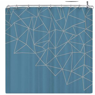 Project M Ab Storm Single Shower Curtain
