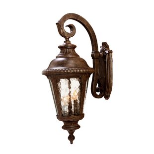 Low priced Appel 3-Light Outdoor Wall Lantern By Astoria Grand
