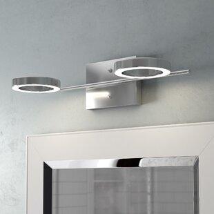 Orren Ellis Dominique 2-Light LED Vanity Light