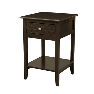 Winston Porter Marsallo Wooden End Table with Storage