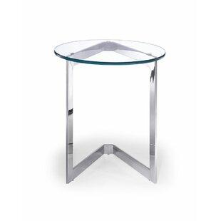 Shiva End Table by Orren Ellis