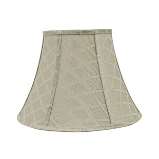 Best Reviews Transitional 13 Fabric Bell Lamp Shade By Darby Home Co