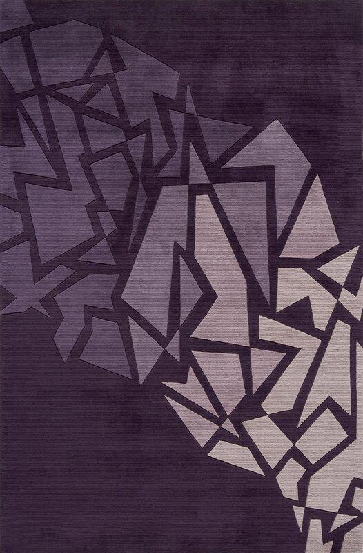 Rita Hand-Tufted Purple Area Rug