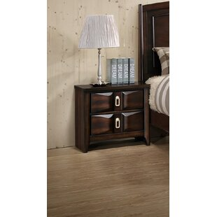 Bloomsbury Market Kobe 2 Drawer Nightstand