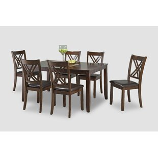 Heffington Casual Dinette 7 Piece Solid W..