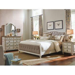 Bailes Tuffted Upholstered Sleigh Bed