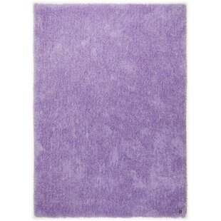 Soft Tufted Purple Rug by Tom Tailor