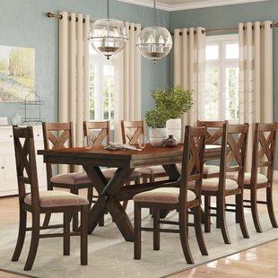 Warsaw 9 Piece Extendable Dining Set Alcott Hill