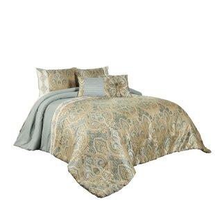 Rochelle 7 Piece Reversible Comforter Set by Vue Signature