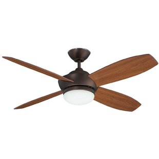 Affordable Price 52 Garvin 4 Blade Ceiling Fan With Remote By Concord Fans
