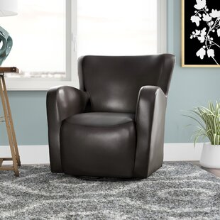 Read Reviews Makson Swivel Armchair By Zipcode Design