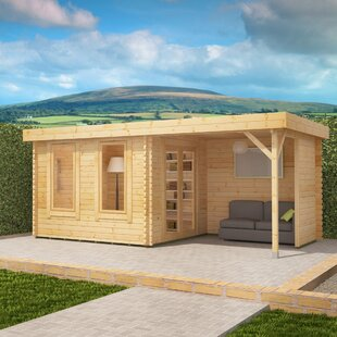 Lakra 16 X 10 Ft. Tongue And Groove Log Cabin Image