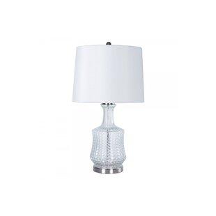 Edina Glass Vase 29 Table Lamp